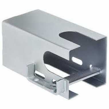 Aanhangerslot zilver 110 mm