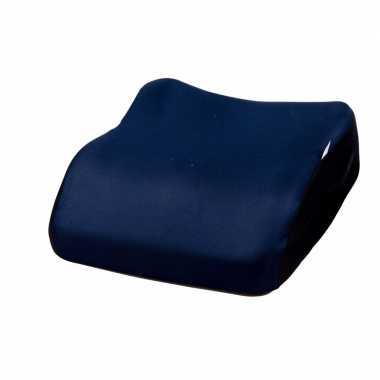 Stoelverhoger voor kinderen donker blauw 38 cm